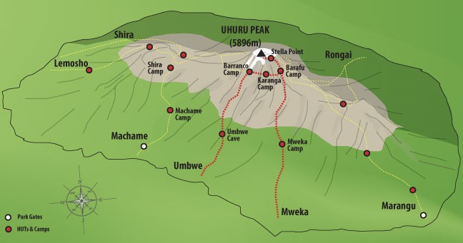 6 Days Umbwe Route - Mount Kilimanjaro Climb